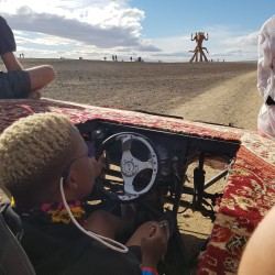 Lethabo taking us on a ride
